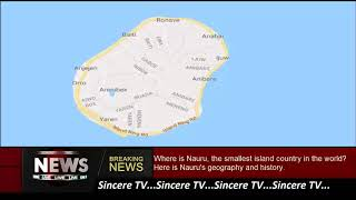 Where is Nauru, the smallest island country in the world? Here is Nauru's geography and ...