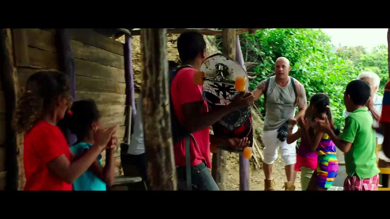 XXX Return of Xander cage First Stunt Scene 4K UHD| 5.1 Dolby Digital surround sound in Hindi