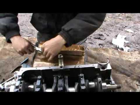 Как собрать двигатель ВАЗ 2107. Сделай Сам!