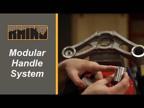Rhino Pro-Series Modular Handle System Installation