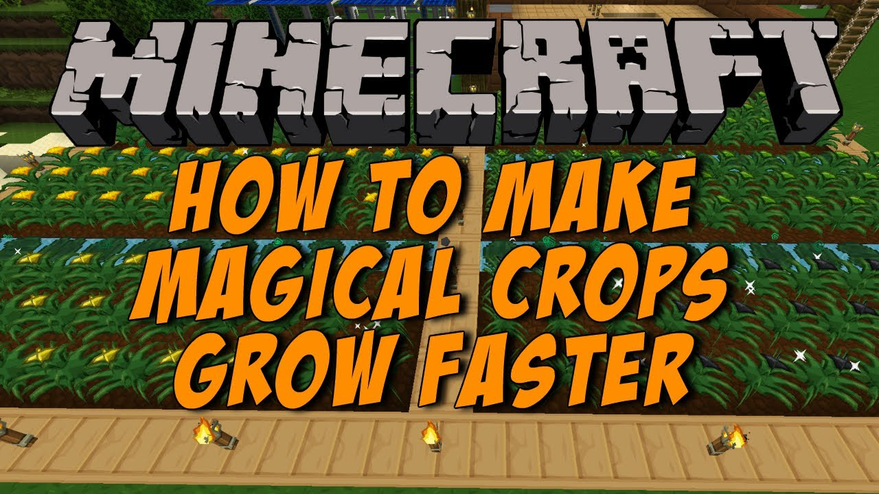 9988403c6 Make Magical Crops Grow Faster Minecraft 1.6.4 - YouTube