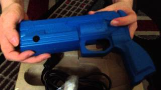 Nostalgamer Unboxes Virtua Gun And Virtua Cop 2 Sega Saturn Box Set Part 2 Of 2