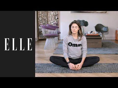 20 minutes de yoga pour se détendre après une journée difficile┃ELLE Yoga