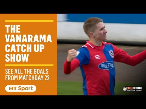 Vanarama National League Highlights Show | Matchday 22