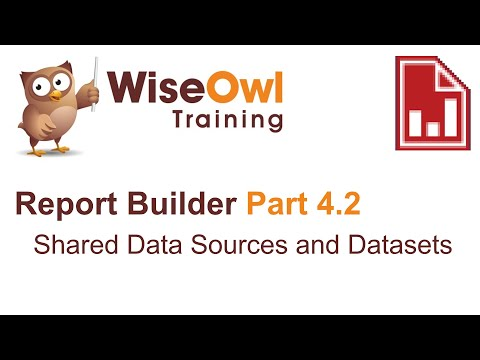 Report Builder 2016 Part 4.2 - Shared Data Sources And Datasets