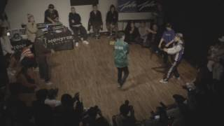 BREAK BREATH VOL.2 BGIRL BATTLE | TOP 8 OHNE-ROCK & MINJIN vs JAYON & HAZ