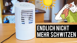 Mobile Klimaanlage: Endlich nicht mehr schwitzen!