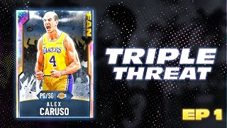 NBA 2K20 My Team - Galaxy Opal Alex Caruso Gameplay