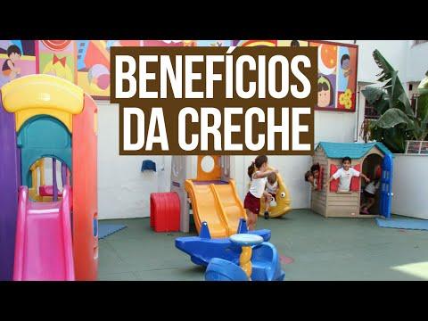 BENEFÍCIOS DA CRECHE