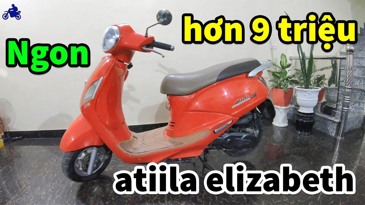 (Rẻ Hơn Chục Triệu) Attila Elizabeth FI 2011 Giá Chỉ Hơn 9 Triệu