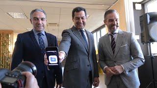 Moreno presenta el Plan de Transformación Digital del Gobierno andaluz