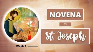 NOVENA TO ST JOSEPH | Week 4: Model of Artisans