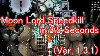 Terraria Moon Lord Speedkill in 3.5 seconds (Not the World Record Anymore!)