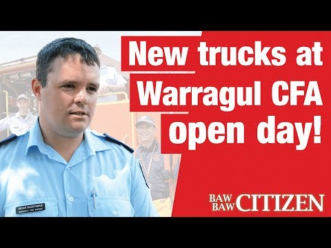 We checked out Warragul CFA's 2017 open day