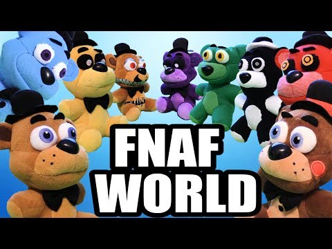 FNAF World plush: Freddy vs. Freddy