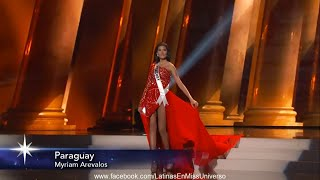 Miss Universe 2015/2016 Preliminary Competition - LATINAS