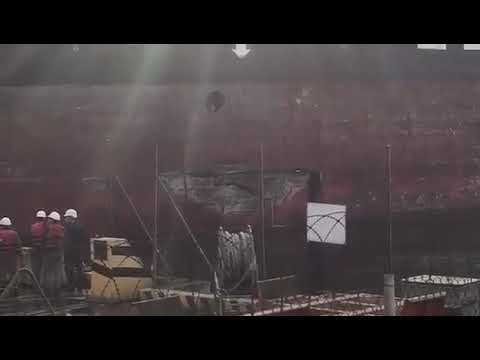 VMM MARINES (Cr.NERMIN) - CONTAINER VESSEL MSC KATYAYNI COLLIDED 19.NOV.2018