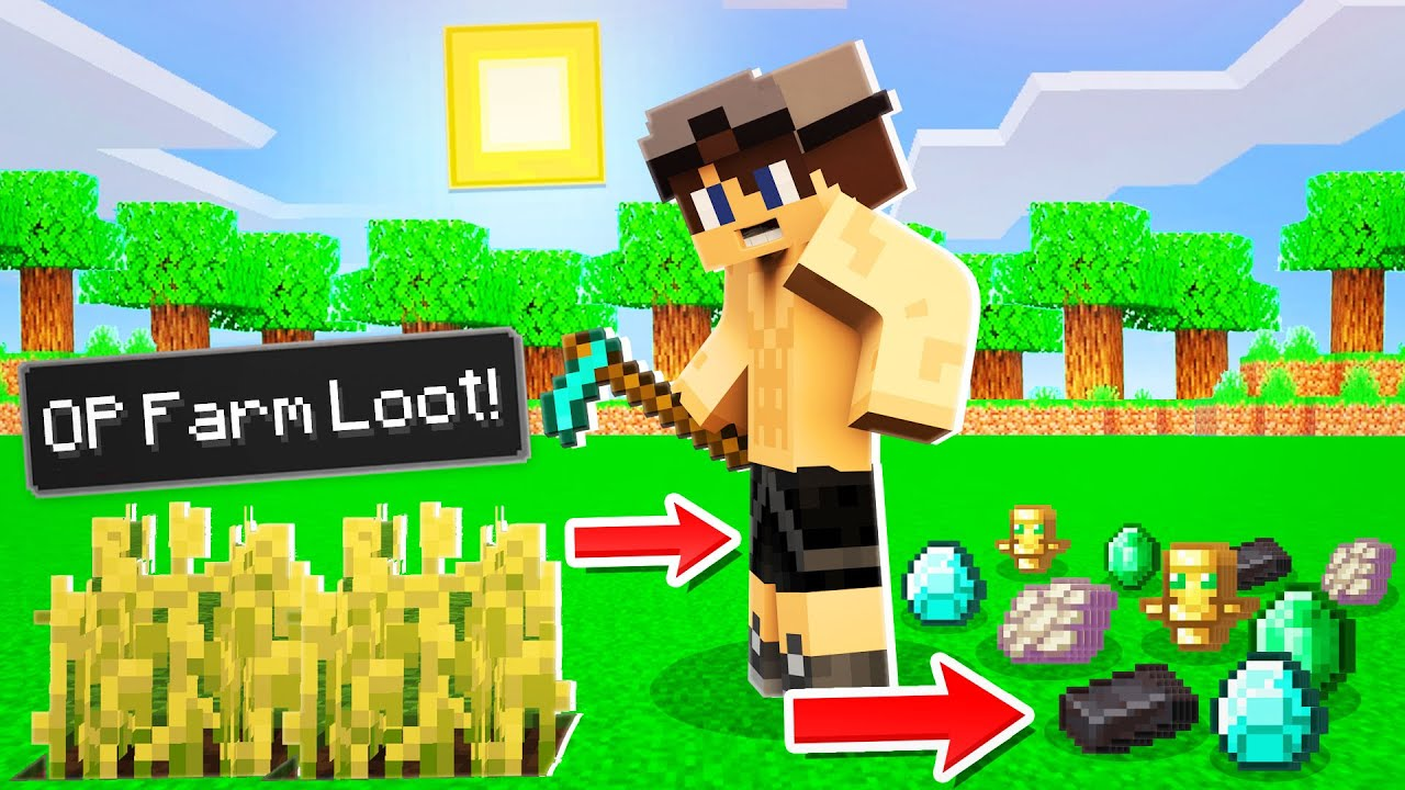 Minecraft, Maar Farms Geven MEGA Sterke Items! 😍