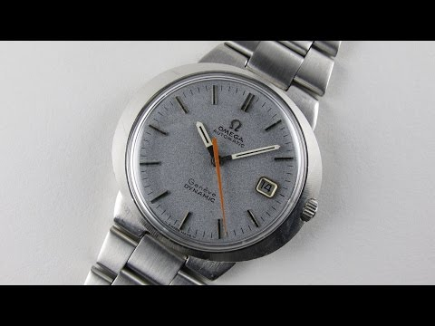 Steel Omega Genève Dynamic Ref. 166.039 vintage wristwatch, circa 1969