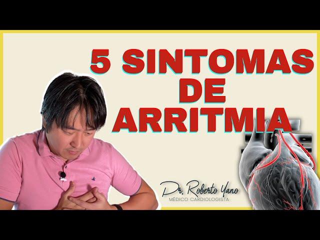 5 Sintomas da arritmia cardíaca!