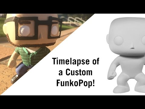 Timelapse of a Custom FunkoPop!