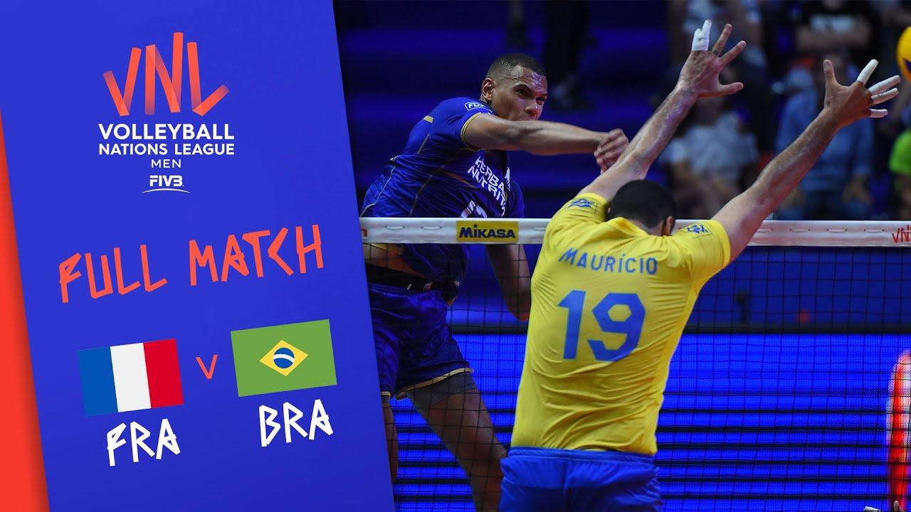 Download France v Brazil - Full Match - Final Round Pool A | Men's VNL 2018