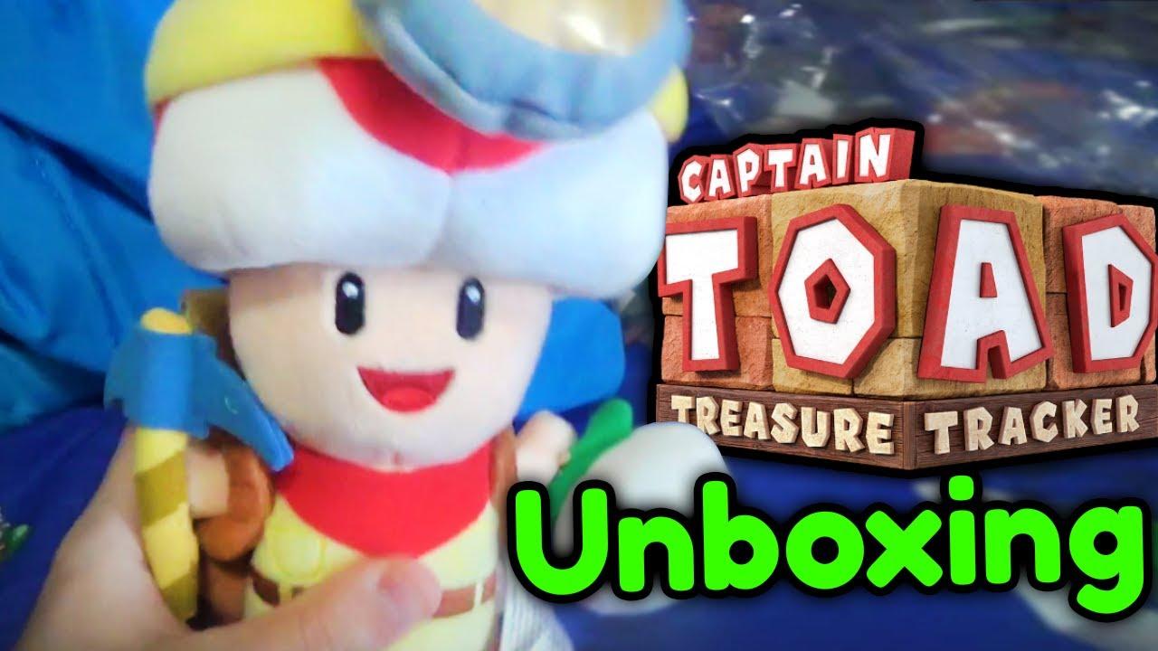 Sanei CAPTAIN TOAD Plush! - Mario Plush Unboxing