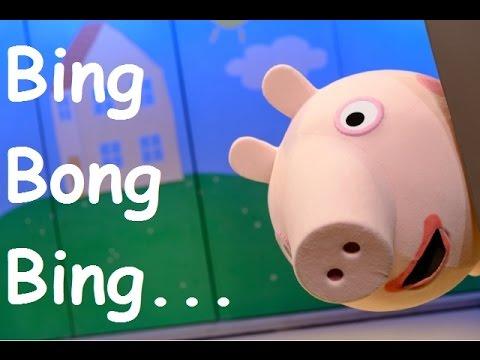 Peppa Pig La Cerdita Cancion de Bing Bong Bing EN ESPAÑOL 3 minutos