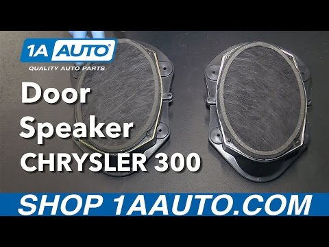 How To Replace Front Door Speakers 06-10 Chrysler 300