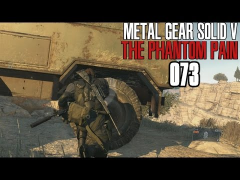 Let's Play MGS 5: The Phantom Pain | # 073 - Wo ist der Schalldämpfer hin | FullHD60
