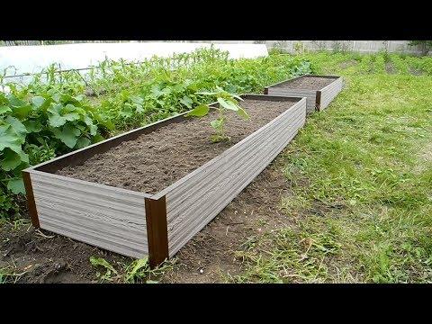 Как делать высокие грядки на огороде