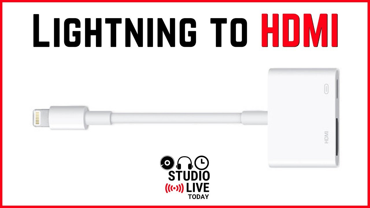Lightning To Hdmi Adapter Le