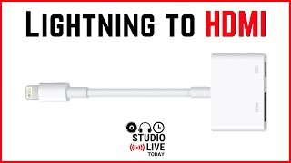 Lightning to HDMI adapter (Apple Lightning to Digital AV)
