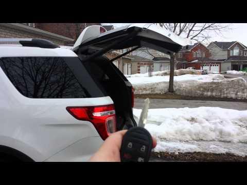 2013 Ford Explorer Power Lift Gate Problems