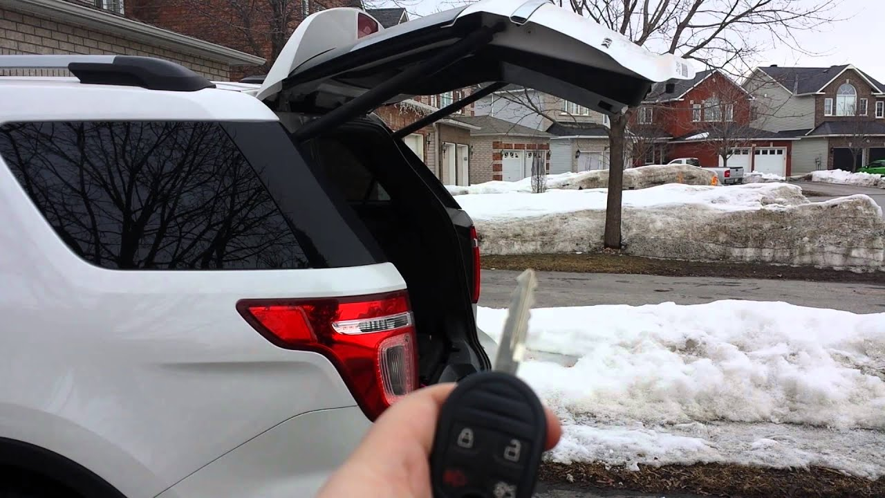 2013 Ford Explorer Power Lift Gate Problems Youtube