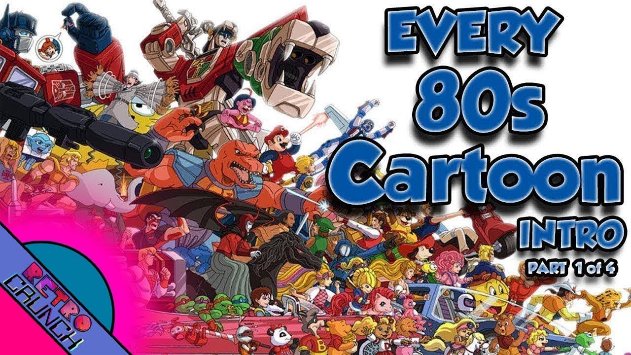 EVERY 80s Cartoon Intro EVER