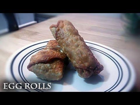 Beef Egg Rolls recipe