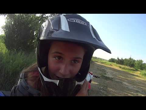 kid video 2016 07 19 3 Perry Lake ATV area, Perry, KS