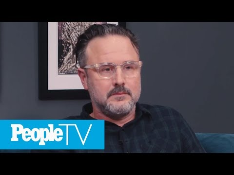 David Arquette Gets Emotional Watching s With Courteney Cox  PeopleTV  Entertainment Weekly