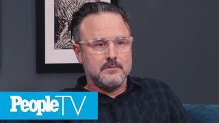 David Arquette Gets Emotional Watching Scenes With Courteney Cox | PeopleTV | Entertainment Weekly