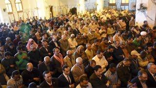 جنازة عسكرية تودع الشهيد عمرو فريد من مطار أسوان إلى مقابر السيد البدوي