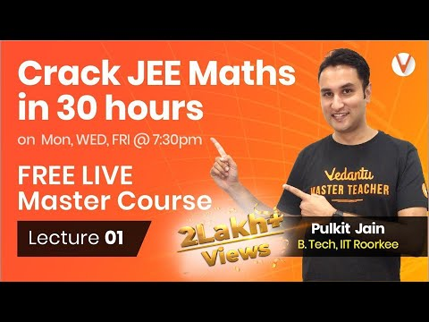 Crack JEE Main Maths with Pulkit Jain - Graph Transformations Functions | Lecture 1