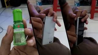 Bongkar HP - Buka Casing belakang sony xperia z dengan minyak kayu putih