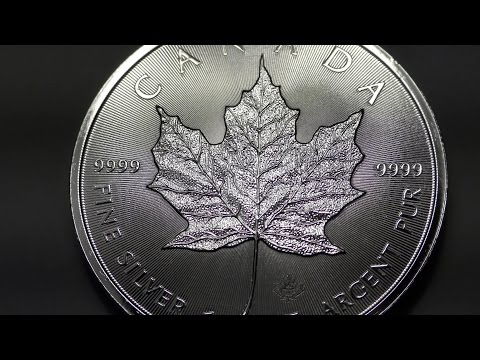 7 Silver Bullion Coins From Around the World--in 4K!