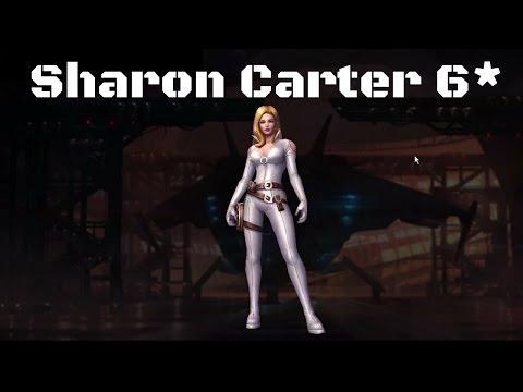 รีวิว Sharon Carter 6 ดาว - Marvel Future Fight