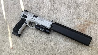ASG CZ75 SP-01 Shadow - Gray Airsoft Version