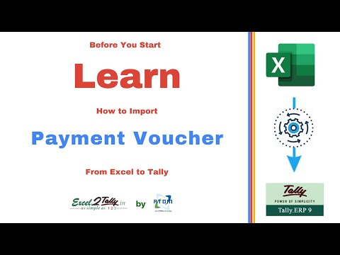 Payment Voucher Sample - YouTube