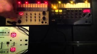 KORG VOLCA Keys/Beats Old jam recorded on iPhone @tholla__