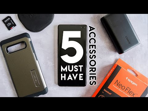 5 Must Have Samsung Galaxy S10 Plus Accessories