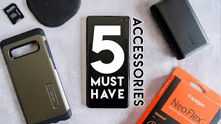 5 Must Have Samsung Galaxy S10 Plus Accessories | Buying Guide | mrkwd tech